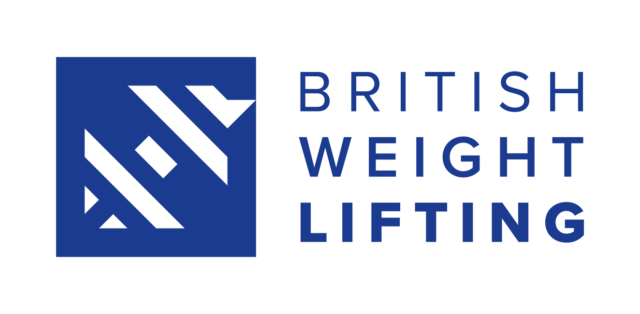 British Weight Lifting blue Logo