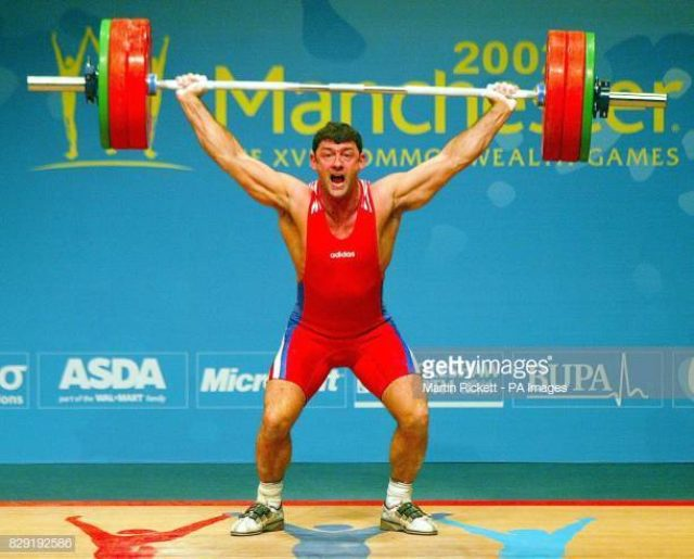 David Morgan successful Snatch in Manchester 2000 Commonwealth Games