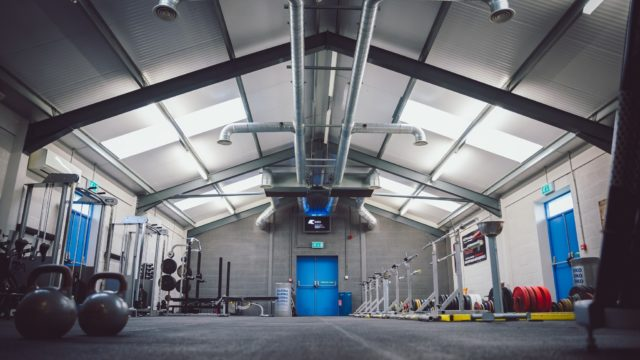 View of a Weightlifting facility in Anglesey